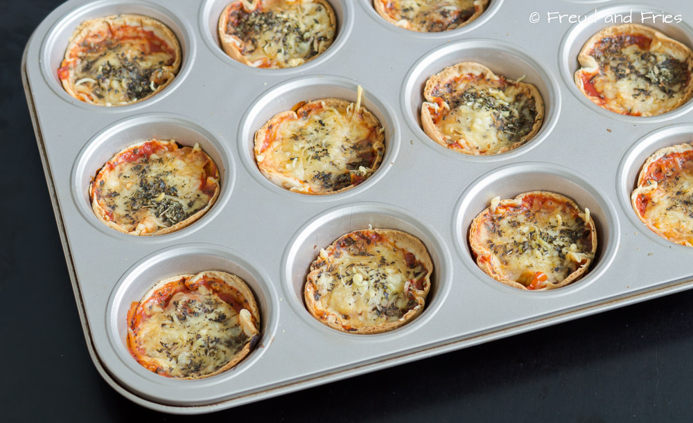 Pizza wrap muffins | Freud and Fries