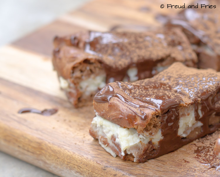 Tiramisu protein bar | Freud and Fries