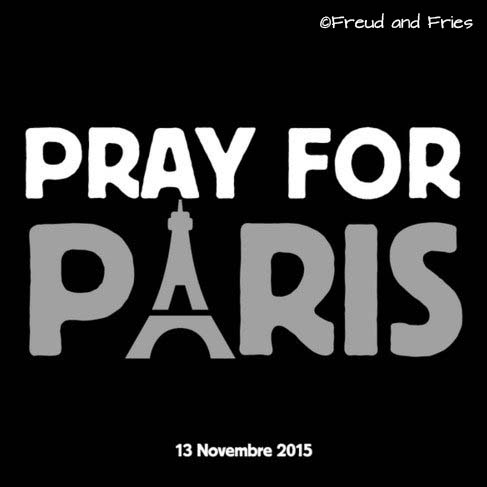 prayforparis | Freud and Fries